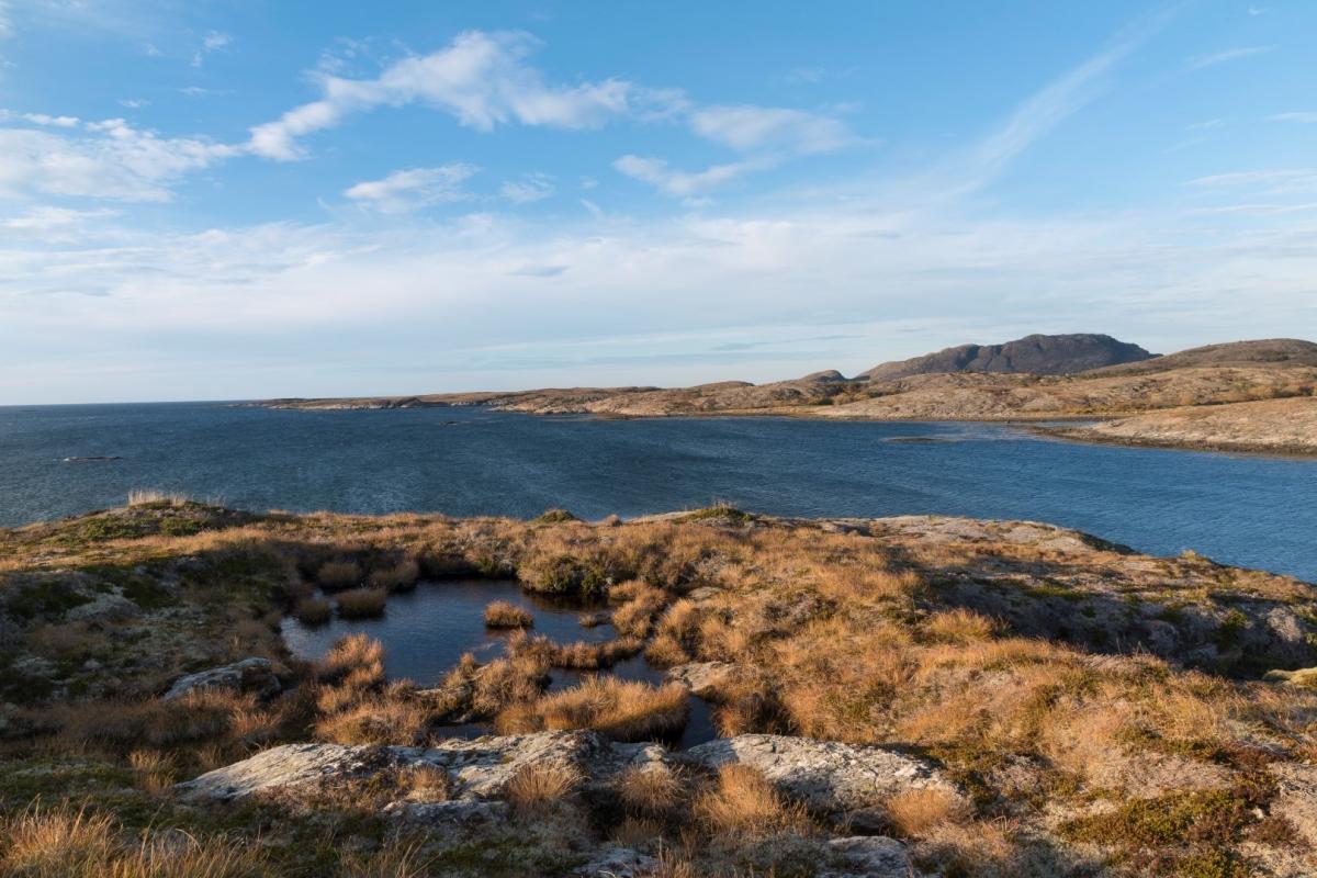 Vågannesset mot Stemmafjellet