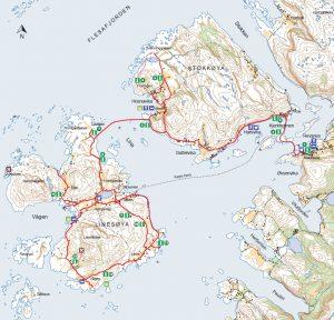 sykkel-kart