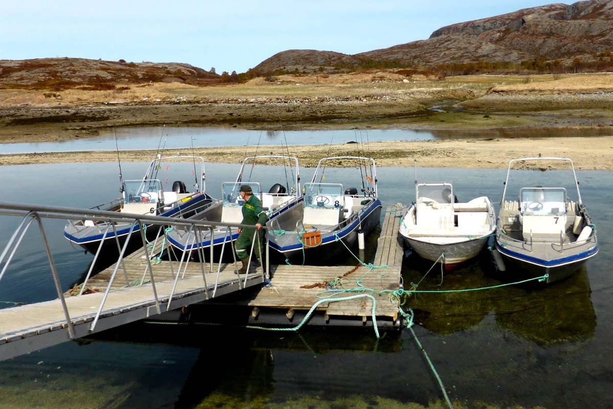 Vågan Feriegård - boats